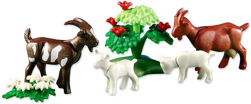 Playmobil Farm Goats with Kids Set #6315