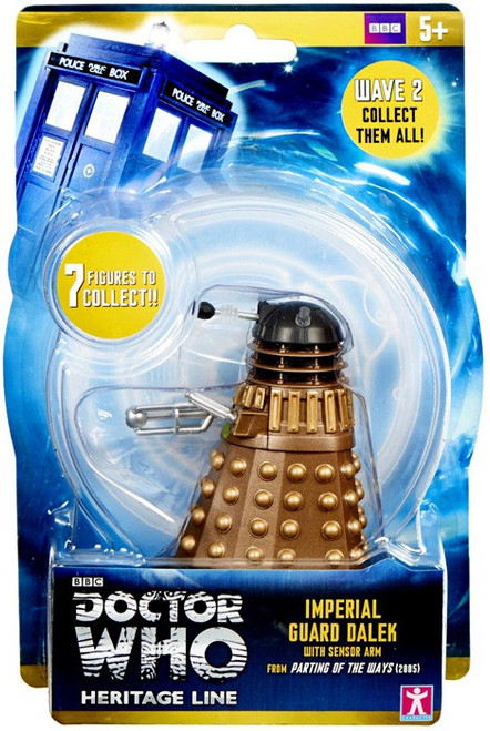 Doctor Who Wave 2 Dalek Action Figure [Imperial Guard]