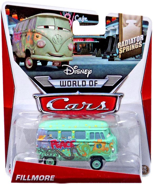 Disney Cars The World of Cars Fillmore Diecast Car #10