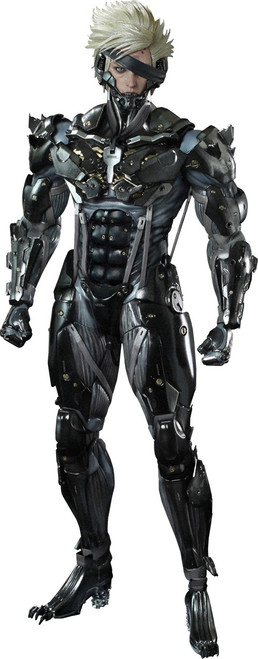 Metal Gear Solid Metal Gear Rising Revengeance Video Game Masterpiece Raiden 1/6 Collectible Figure