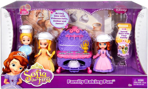 Disney Sofia the First Family Baking Fun Playset #39