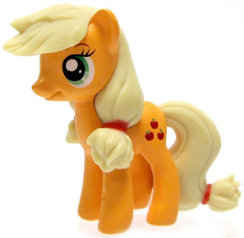 My Little Pony Monopoloy Parts Applejack 1 1/2-Inch PVC Figure [Loose]