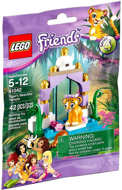 LEGO Friends Series 4 Tiger's Beautiful Temple Mini Set #41042