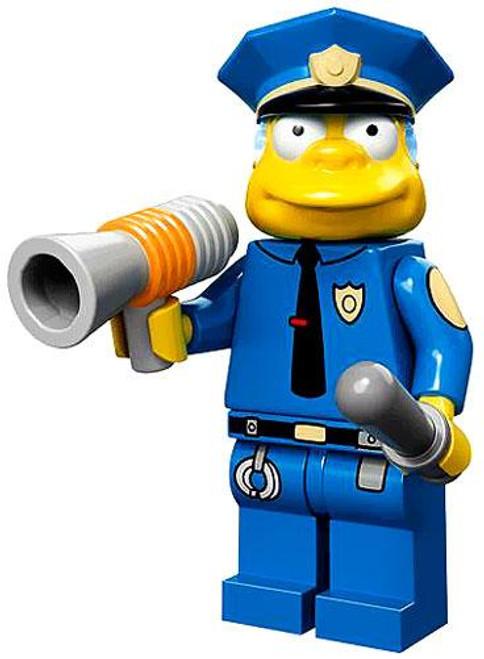 LEGO The Simpsons Simpsons Series 1 Chief Wiggum Minifigure [Loose]