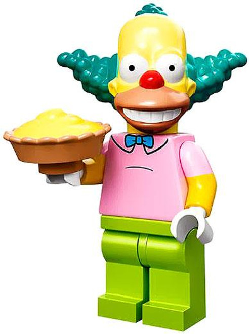 LEGO The Simpsons Simpsons Series 1 Krusty the Clown Minifigure [Loose]