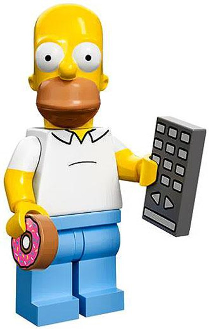 LEGO The Simpsons Simpsons Series 1 Homer Simpson Minifigure [Loose]