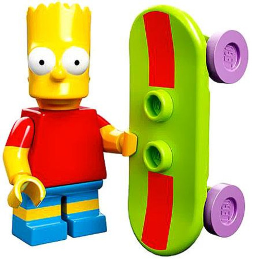LEGO The Simpsons Simpsons Series 1 Bart Simpson Minifigure [Loose]