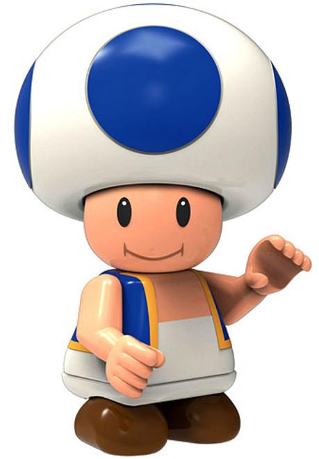 K'NEX Super Mario Toad 2-Inch Minifigure [Blue Loose]