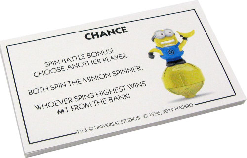 Despicable Me 2 Set of 16 Chance Cards [Loose]