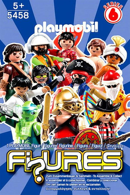 Playmobil Fi?ures Figures Series 6 Blue Mystery Pack