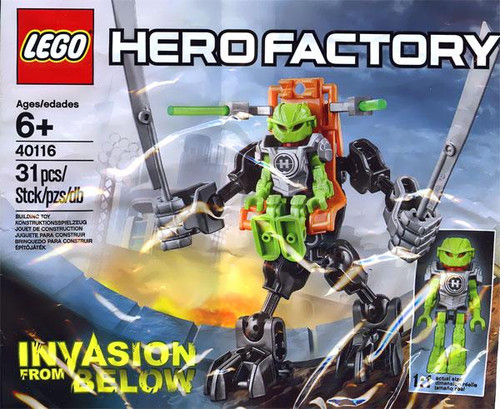 LEGO Hero Factory Invasion from Below Mini Set #40116 [Bagged]
