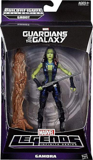 Guardians of the Galaxy Marvel Legends Infinite Series Groot Gamora Action Figure