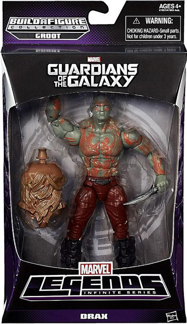 Guardians of the Galaxy Marvel Legends Infinite Series Groot Drax Action Figure