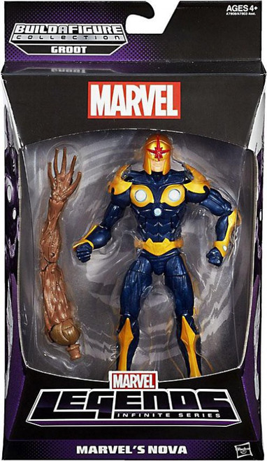 Marvel Legends Infinite Series Groot Marvel's Nova Action Figure