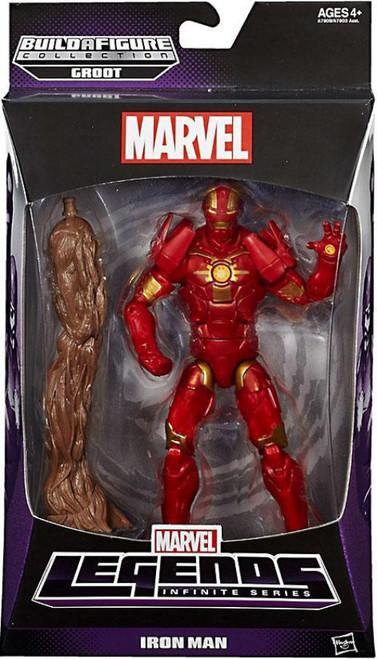 Marvel Legends Infinite Series Groot Iron Man Action Figure