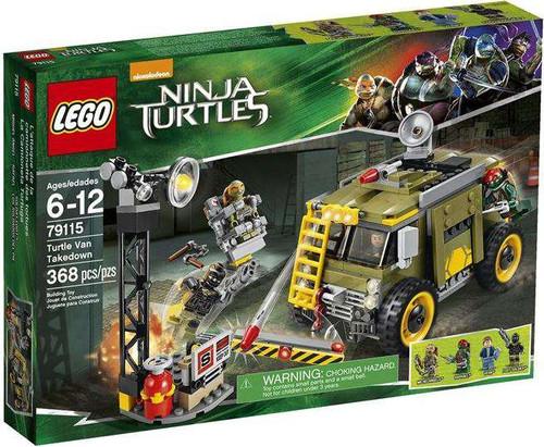 LEGO Teenage Mutant Ninja Turtles Ninja Turtles 2014 Turtle Van Takedown Set #79115
