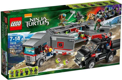 LEGO Teenage Mutant Ninja Turtles Ninja Turtles 2014 Big Rig Snow Getaway Set #79116