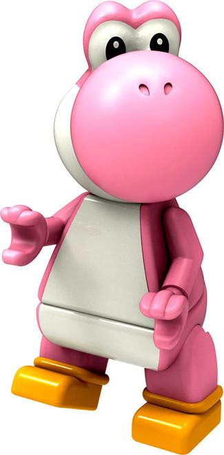 K'NEX Super Mario Yoshi 2-Inch Minifigure [Pink Loose]