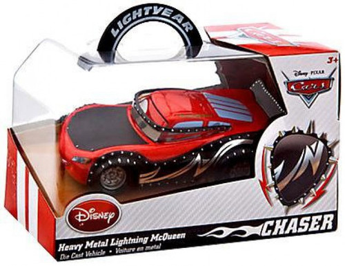 Disney Cars Heavy Metal Lightning McQueen Exclusive Diecast Car [Chase Edition]