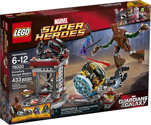 LEGO Marvel Super Heroes Guardians of the Galaxy Knowhere Escape Mission Set #76020