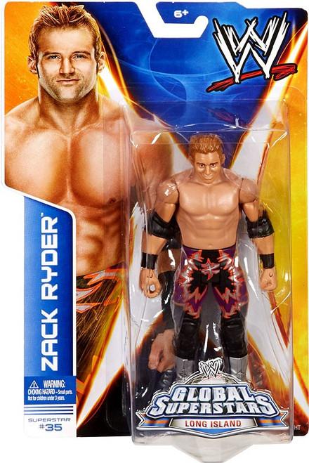 WWE Wrestling Series 40 Zack Ryder Action Figure #35