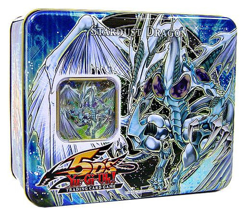 YuGiOh 5D's 2008 Collector Tin Stardust Dragon Collector Tin [Sealed]
