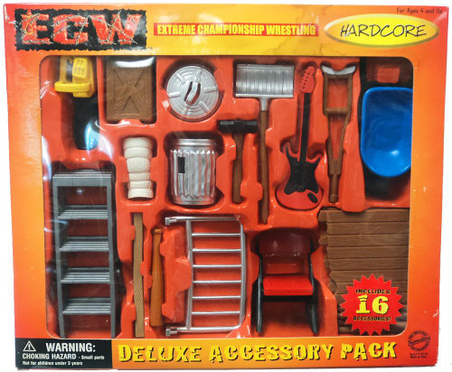 ECW Wrestling Champion Clashers Deluxe Accessory Pack Action Figure Accessory