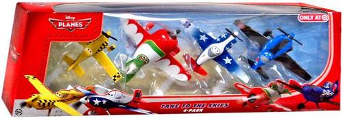 Disney Planes Take to The Skies Exclusive Diecast Vehicle 4-Pack
