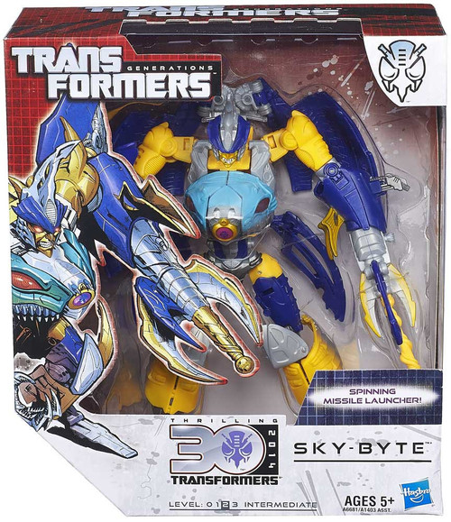 Transformers Generations 30th Anniversary Sky Byte Voyager Action Figure