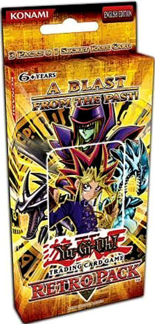 YuGiOh Retro Pack Retro with Blue Eyes Ultimate Dragon Promo Special Edition Pack [3 Booster Packs & 1 Promo Card] [Sealed]