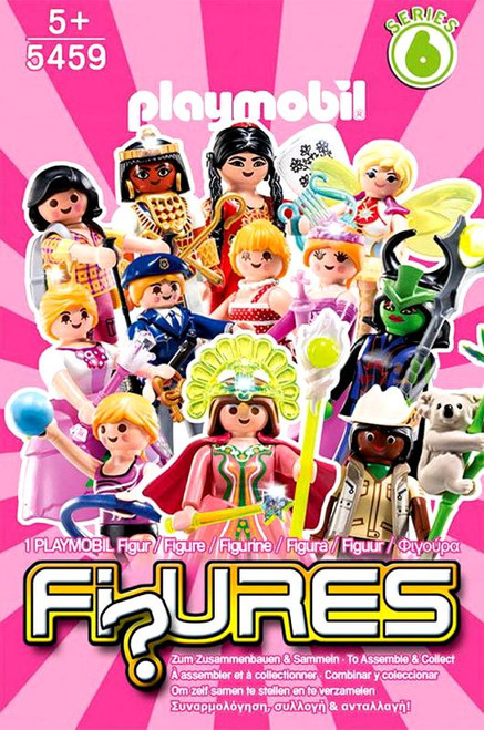 Playmobil Fi?ures Figures Series 6 Pink Mystery Pack