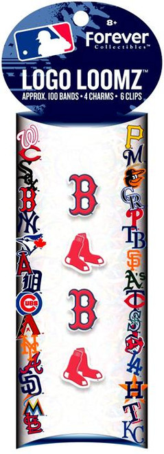 MLB Logo Loomz Boston Red Sox Rubber Bands Refill Pack [100 ct]