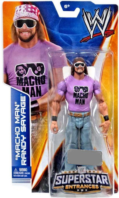 WWE Wrestling Superstar Entrances Macho Man Randy Savage Exclusive Action Figure
