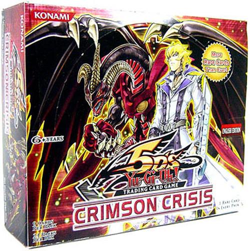 YuGiOh Crimson Crisis Booster Box [24 Packs] [Sealed]