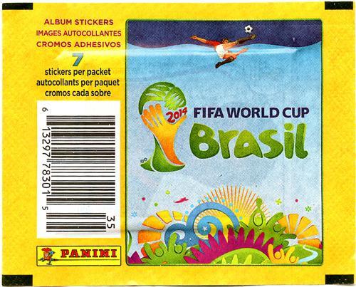 2014 Brazil 2014 Fifa World Cup Brazil Sticker Pack