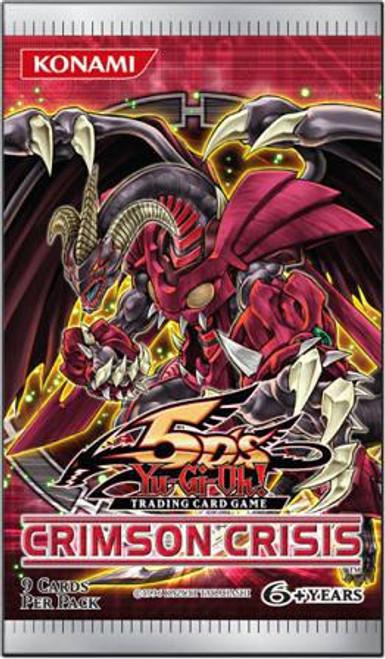 YuGiOh Crimson Crisis Booster Pack [Sealed]