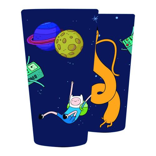 Adventure Time Finn & Jake In Space Pint Glass