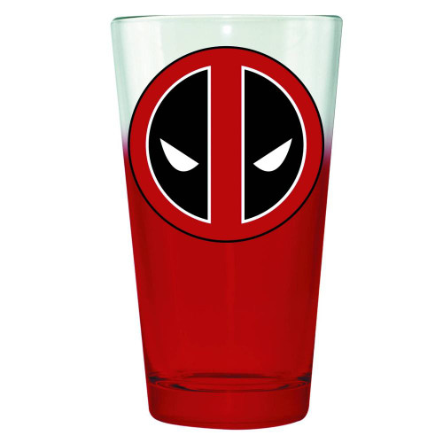 Marvel Deadpool Symbol Pint Glass