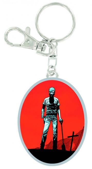The Walking Dead Rick Graveyard Keychain