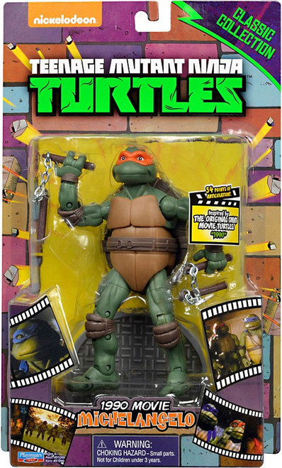 Teenage Mutant Ninja Turtles Classic Movie Series Michelangelo Exclusive Action Figure