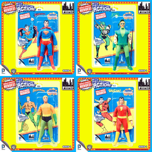 DC Super Powers World's Greatest Heroes Series 1 Set of 4 Action Figures