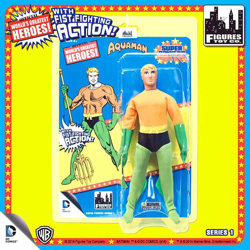 DC Super Powers World's Greatest Heroes Series 1 Aquaman Action Figure