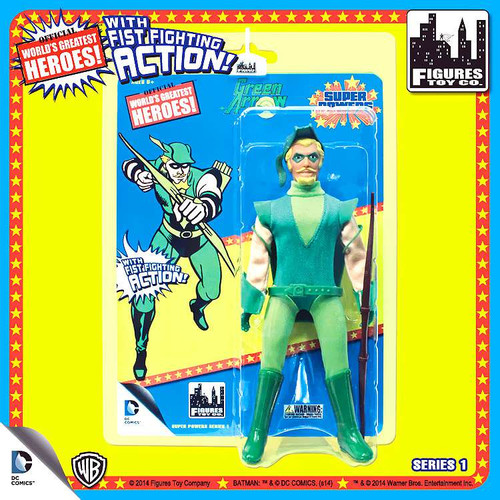 DC Super Powers World's Greatest Heroes Series 1 Green Arrow Action Figure