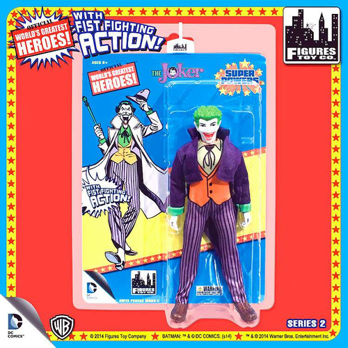 Batman World's Greatest Heroes Super Powers Series 2 The Joker Action Figures