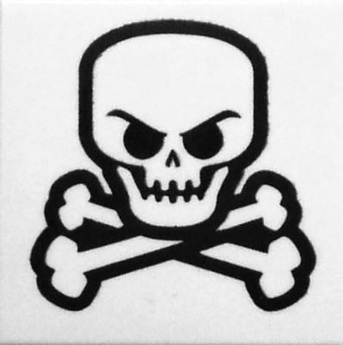 LEGO Pieces Accessory Skull and Crossbone White [Loose]