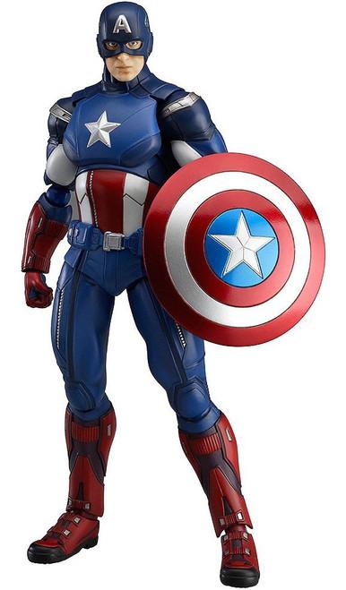 Marvel Avengers Figma Series Captain America Action Figure