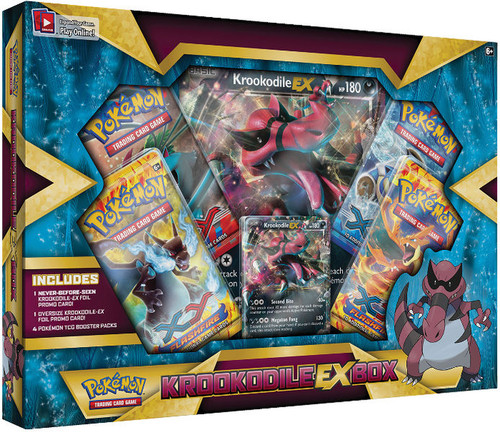 Pokemon XY Special Edition Krookodile EX Box