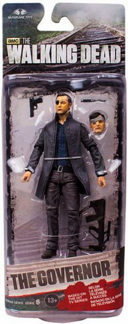 McFarlane Toys Walking Dead AMC TV Series 6 Governor with Long Coat Action Figure