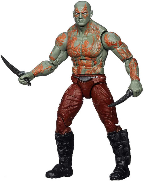 Guardians of the Galaxy Marvel Legends Infinite Series Groot Drax Action Figure [Loose, No Package]