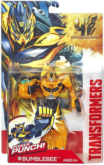 Transformers Age of Extinction Power Battler Bumblebee Action Figure